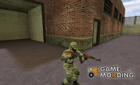 Russian Spetsnaz special forces fighter Alpha for Counter-Strike 1.6