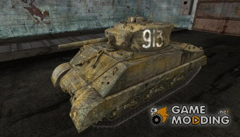 Шкурка для M4A3E2 for World of Tanks