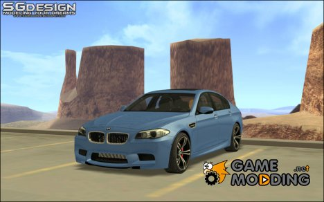 2012 BMW F10 M5 for GTA San Andreas