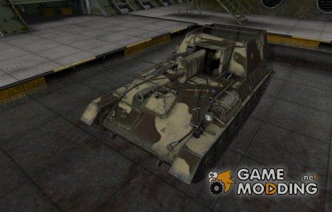Пустынный скин для СУ-85Б для World of Tanks