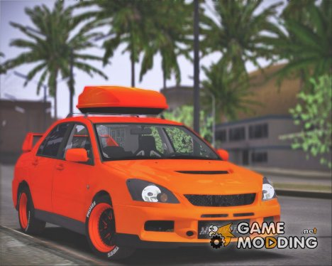 Mitsubishi Lancer Evolution IX MR LPcars для GTA San Andreas