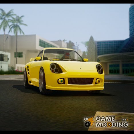 Pfister Comet из GTA 5 для GTA San Andreas
