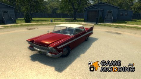 Plymouth Belvedere Sport Sedan 1957 для Mafia II