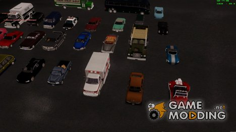 Grand Theft Auto III Pack для GTA San Andreas