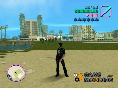 Punisher skin v2 для GTA Vice City