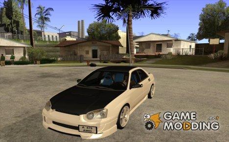 Subaru Impreza (exclusive) for GTA San Andreas