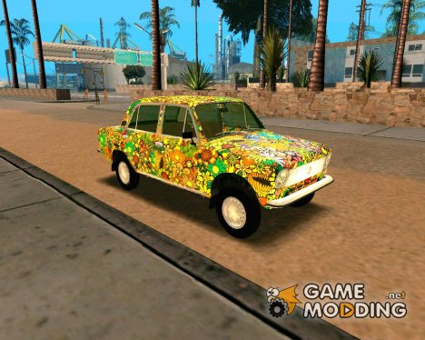 ВАЗ 21011 Hippie для GTA San Andreas