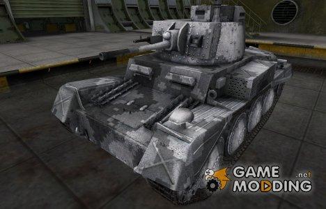 Камуфлированный скин для PzKpfw 38 n.A. для World of Tanks
