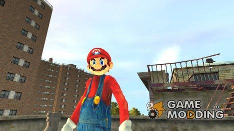 Скин Марио for GTA 4
