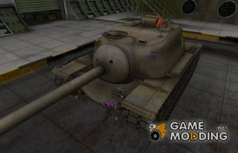 Контурные зоны пробития T110E3 for World of Tanks