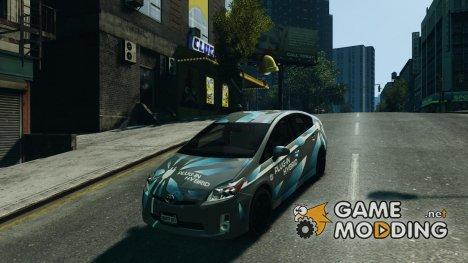 Toyota Prius 2011 PHEV Concept for GTA 4