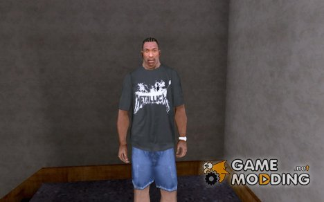 Футболка Metallica for GTA San Andreas