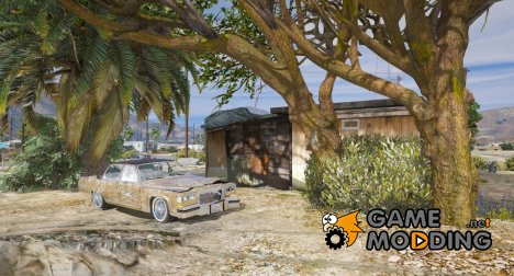 Cadillac Fleetwood Brougham 1985 Rusty for GTA 5