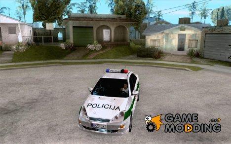 Ford Focus Policija for GTA San Andreas