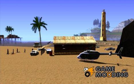 Новый Бар на пляже Верона for GTA San Andreas