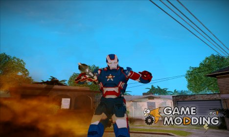 Iron Patriot for GTA San Andreas