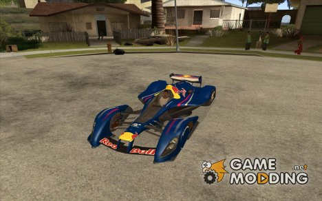 X2010 Red Bull for GTA San Andreas