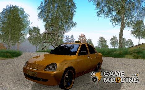 """ВАЗ 2170 """"Приора"""" Такси для GTA San Andreas"""