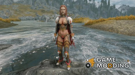 Female Vampiric Knight UNP для TES V Skyrim