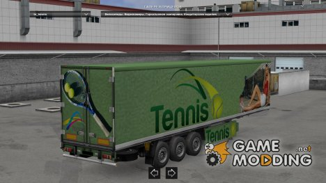 Trailer Pack Sport Theme 3.0 for Euro Truck Simulator 2