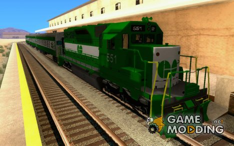 THE GO Transit Train for GTA San Andreas