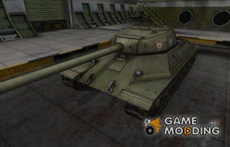Скин с надписью для ИС-6 for World of Tanks