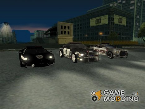 NFS Rivals car pack для GTA San Andreas