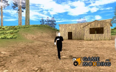 Slender man version 3 для GTA San Andreas