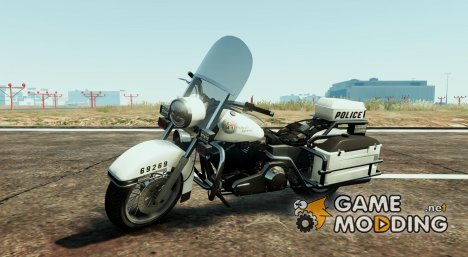 Skin BMW R1150 RT Swiss - GE Police для GTA 5