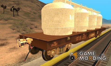 Списанный вагон Мука for GTA San Andreas