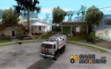 Камаз МЧС for GTA San Andreas