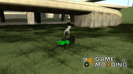 Motorcycle Freestyle Mod для GTA San Andreas