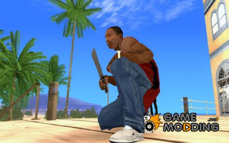 Machete from Far Cry 3 для GTA San Andreas