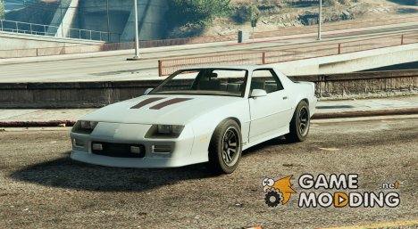 Chevrolet Camaro IROC-Z BETA for GTA 5