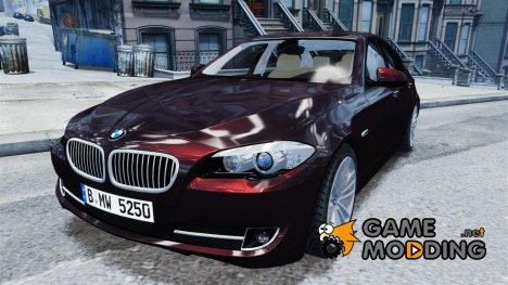 BMW 525 (F10) v.1.0 для GTA 4