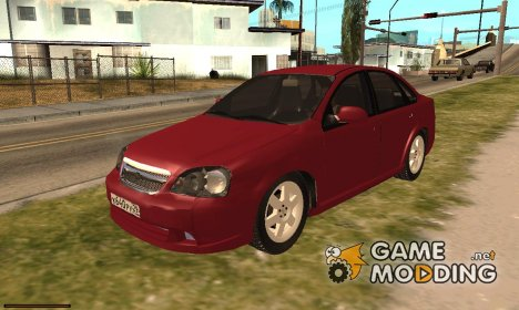 Chevrolet Lacetti Sedan v1.2 for GTA San Andreas