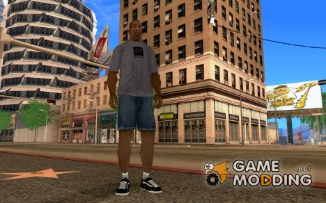 Vans No Skool Shoes для GTA San Andreas
