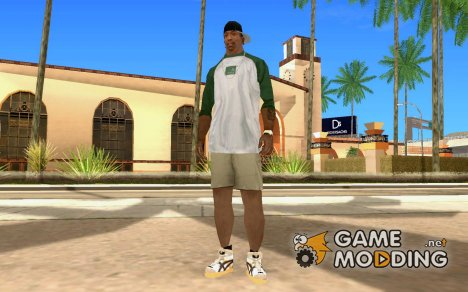 Assics Tiger Schuhe для GTA San Andreas