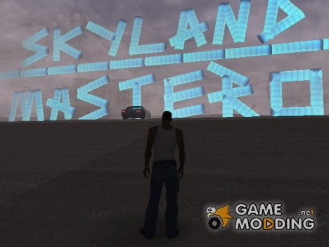 Map Skyland for GTA San Andreas