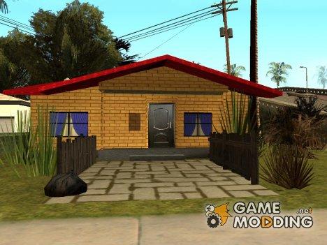 Новый дом Денис for GTA San Andreas