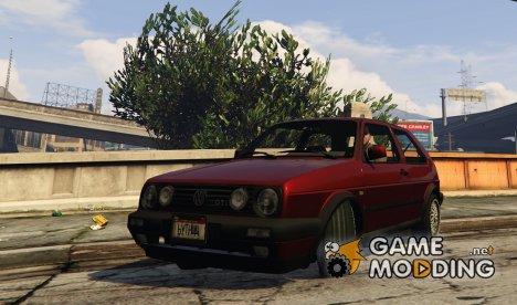 Volkswagen Golf GTI mark 2 for GTA 5
