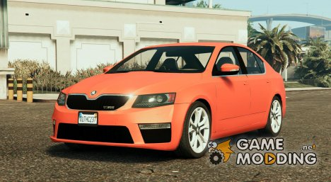 2014 Škoda Octavia VRS Hatchback for GTA 5