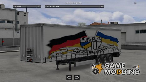 Carl Zeiss Jena Trailer V 1.0 for Euro Truck Simulator 2