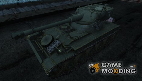 Шкурка для AMX 13 75 №6 for World of Tanks
