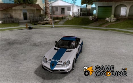 Mercedes-Benz SLR 722 SCPD for GTA San Andreas