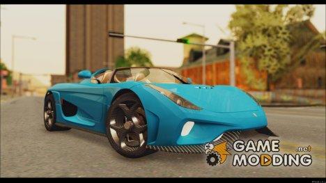 Koenigsegg Regera 2015 for GTA San Andreas