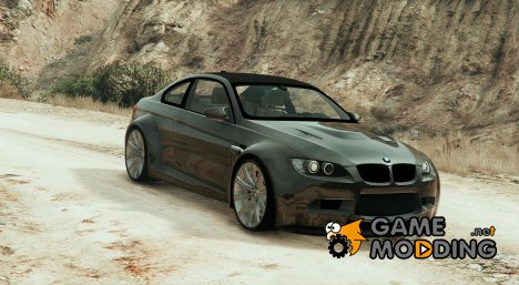 BMW M3 E92 Stratospeed Widebody v1.2 for GTA 5
