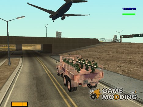 Barracks passenger для GTA San Andreas