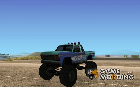 Monster A в стиле ФК ЗЕНИТ for GTA San Andreas