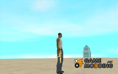 MP5 Gold for GTA San Andreas